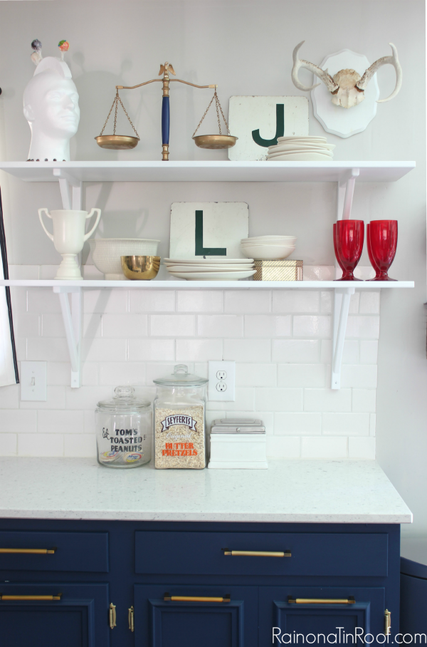 kitchen-open-shelving by Rain On A Tin Roof