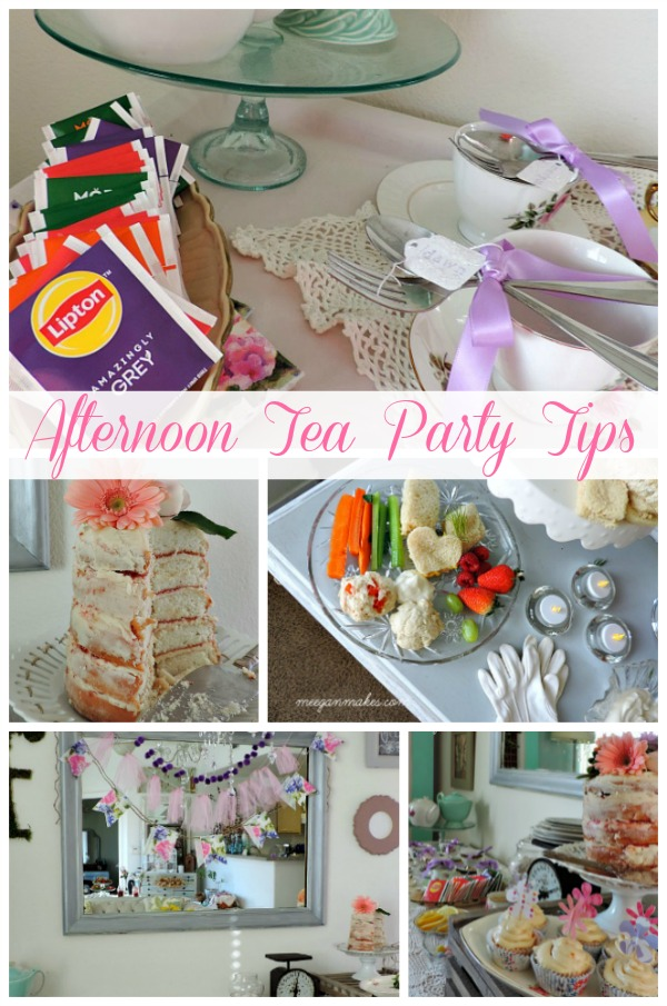 Afternoon Tea party Tips by meeganmakes.com