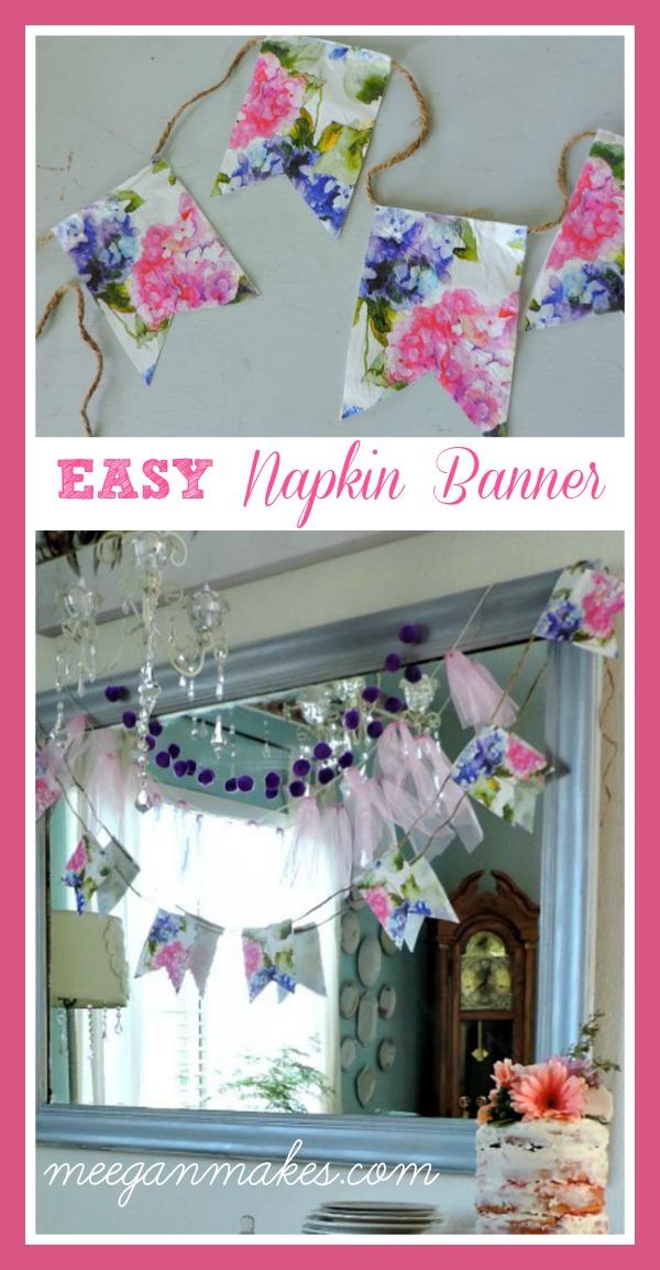 EASY Napkin Banner