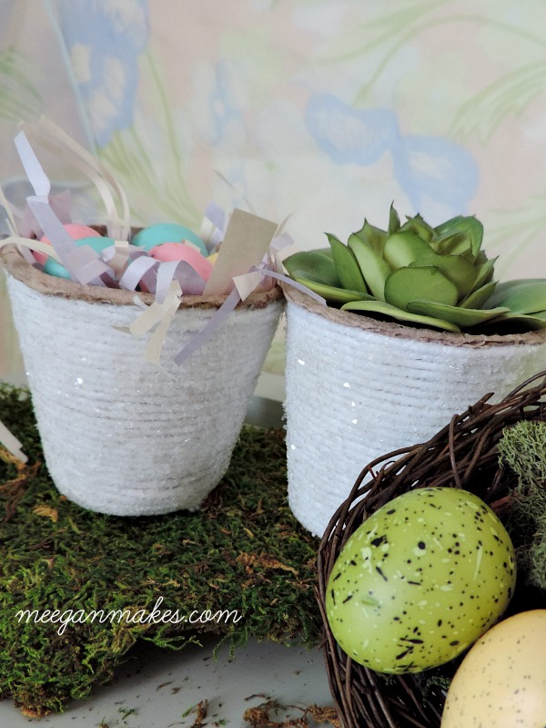 Easter Peat Pots. I gotta make these. SO easy.