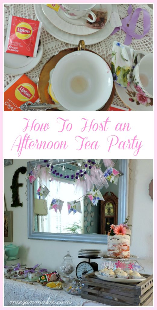 How To Host An Afternoon Tea Party by meeganmakes.com