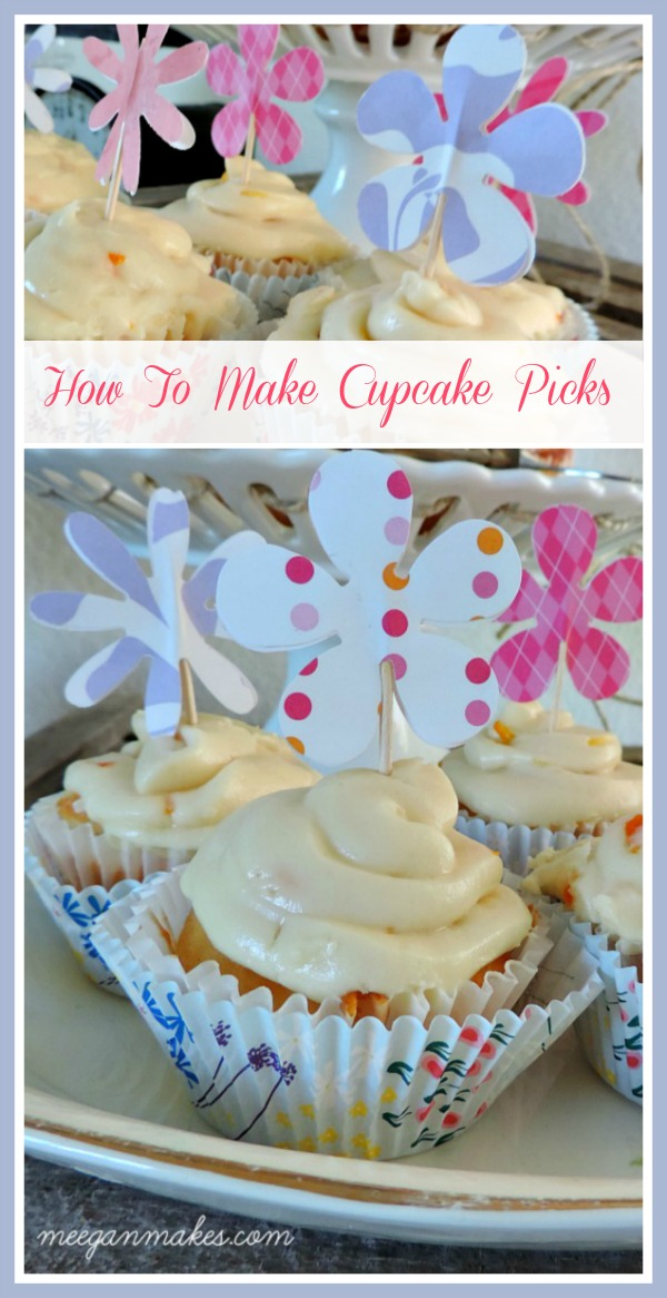 How To Make A Cupcake Pick