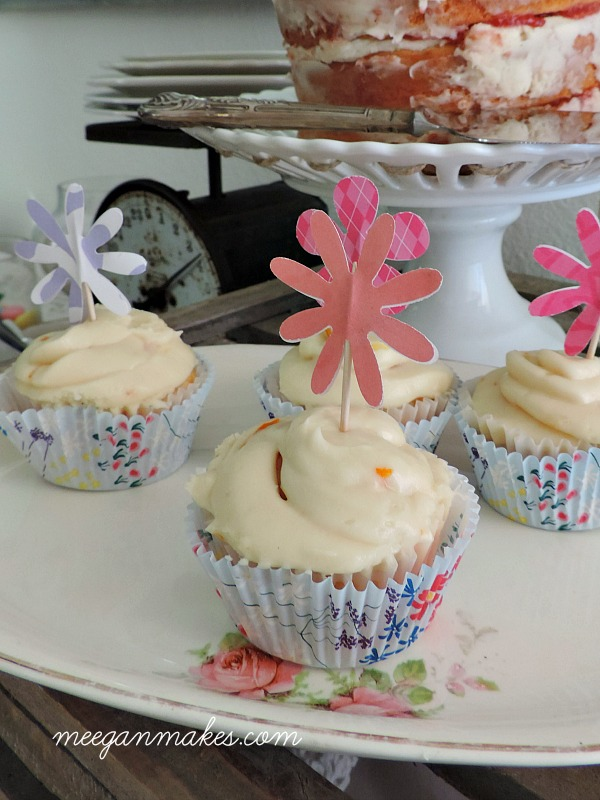 How To Make Flower Cupcake Picks