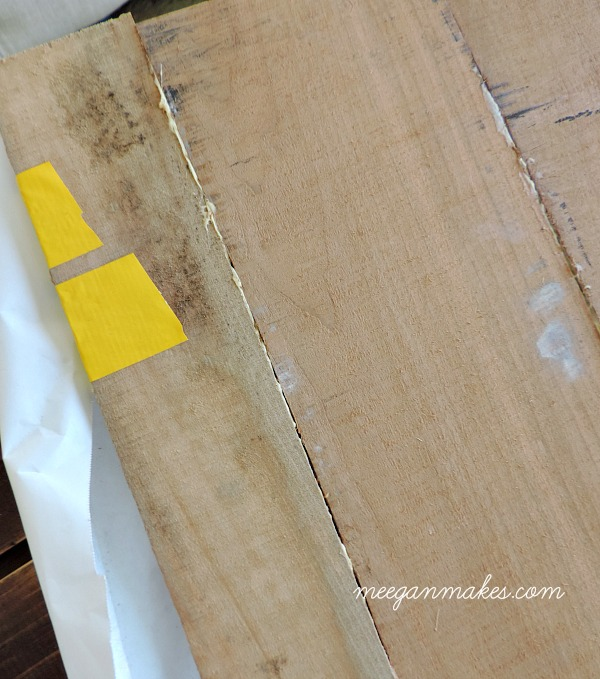 How to glue wood together with out a vice.