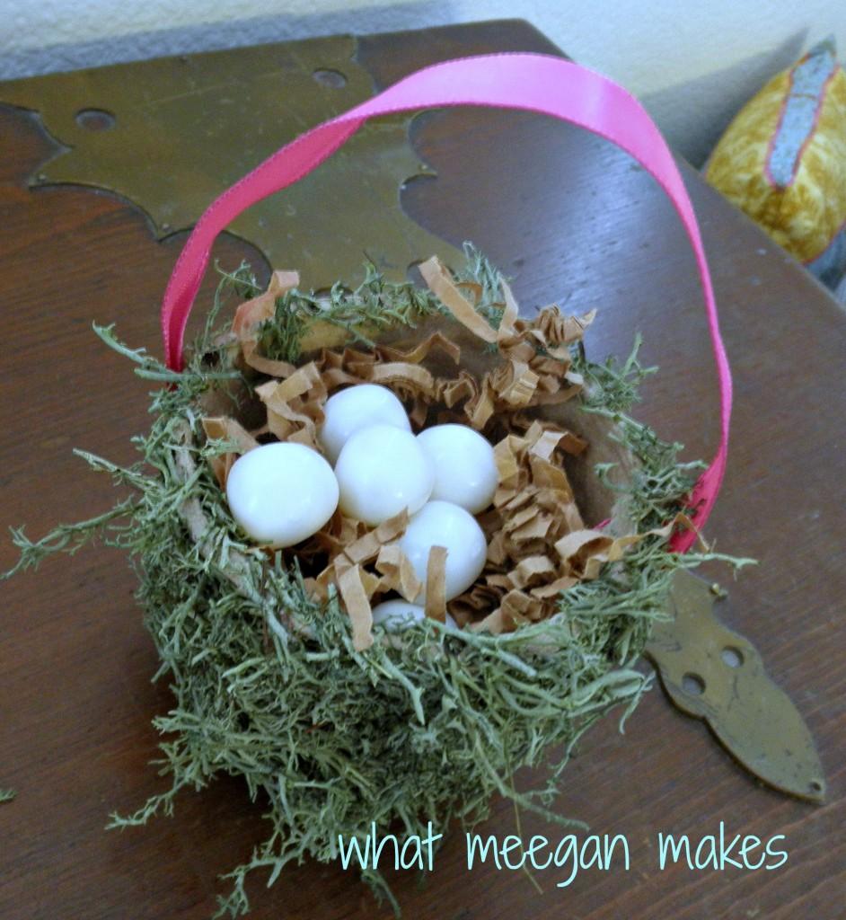 Moss Easter Basket