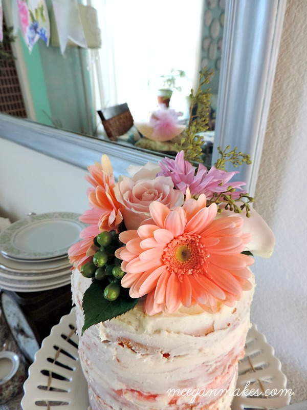 Naked Cake Floral Top
