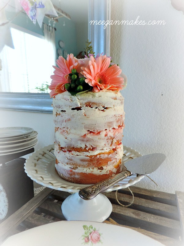 Naked Cake by meeganmakes.com