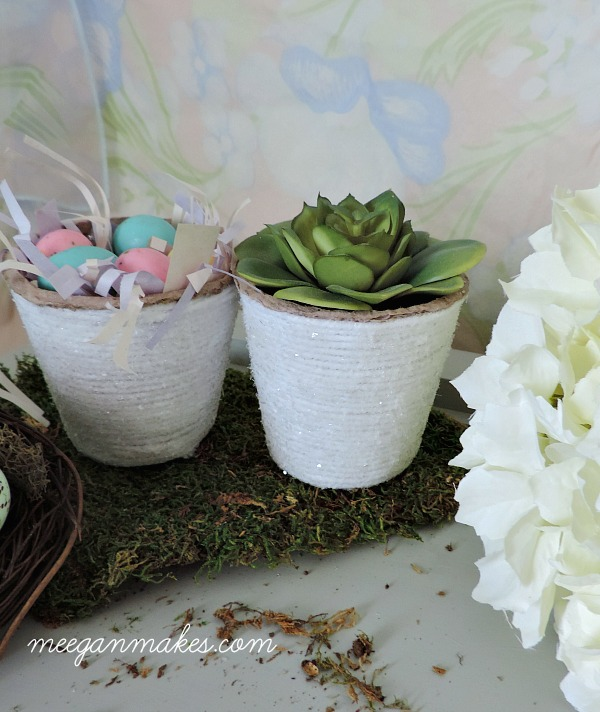 Peat Pots for Easter or Spring. So easy to make.