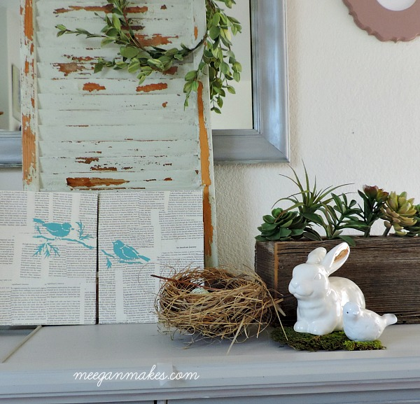 How to use bird nests in home decor what meegan makes for The nest home decor