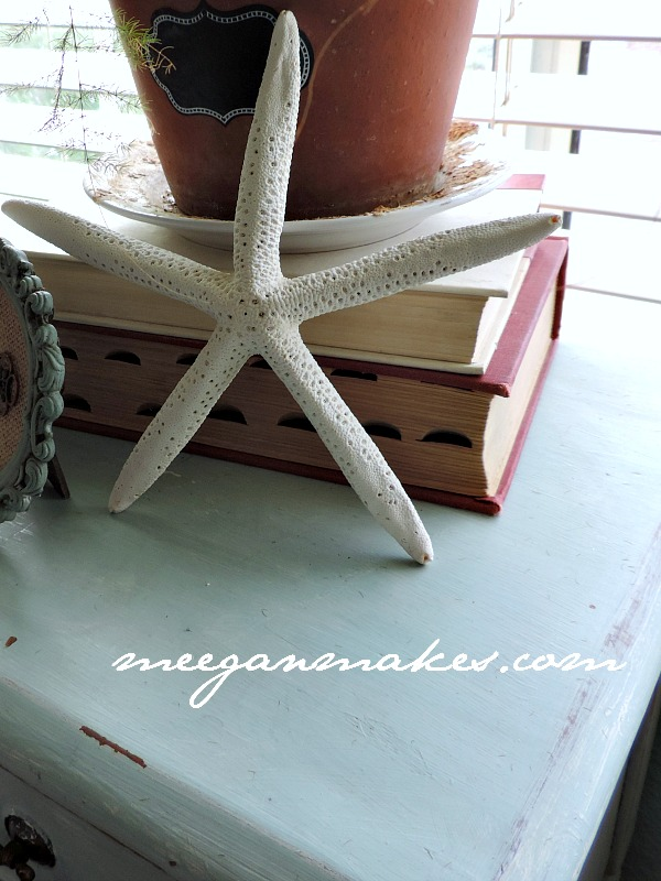 Spring Decorating with Starfish