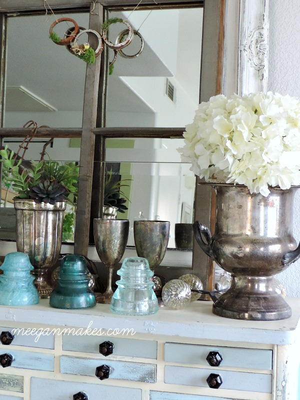 Spring Style Decorating with Silver