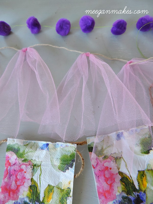 Three DIY Spring Pennants