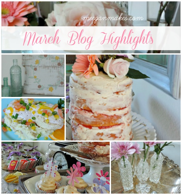 March Blog Highlights by meeganmakes.com