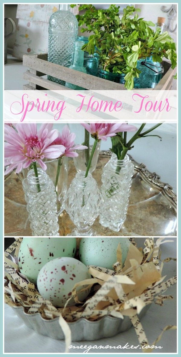 Spring Home Tour from meeganmakes.com