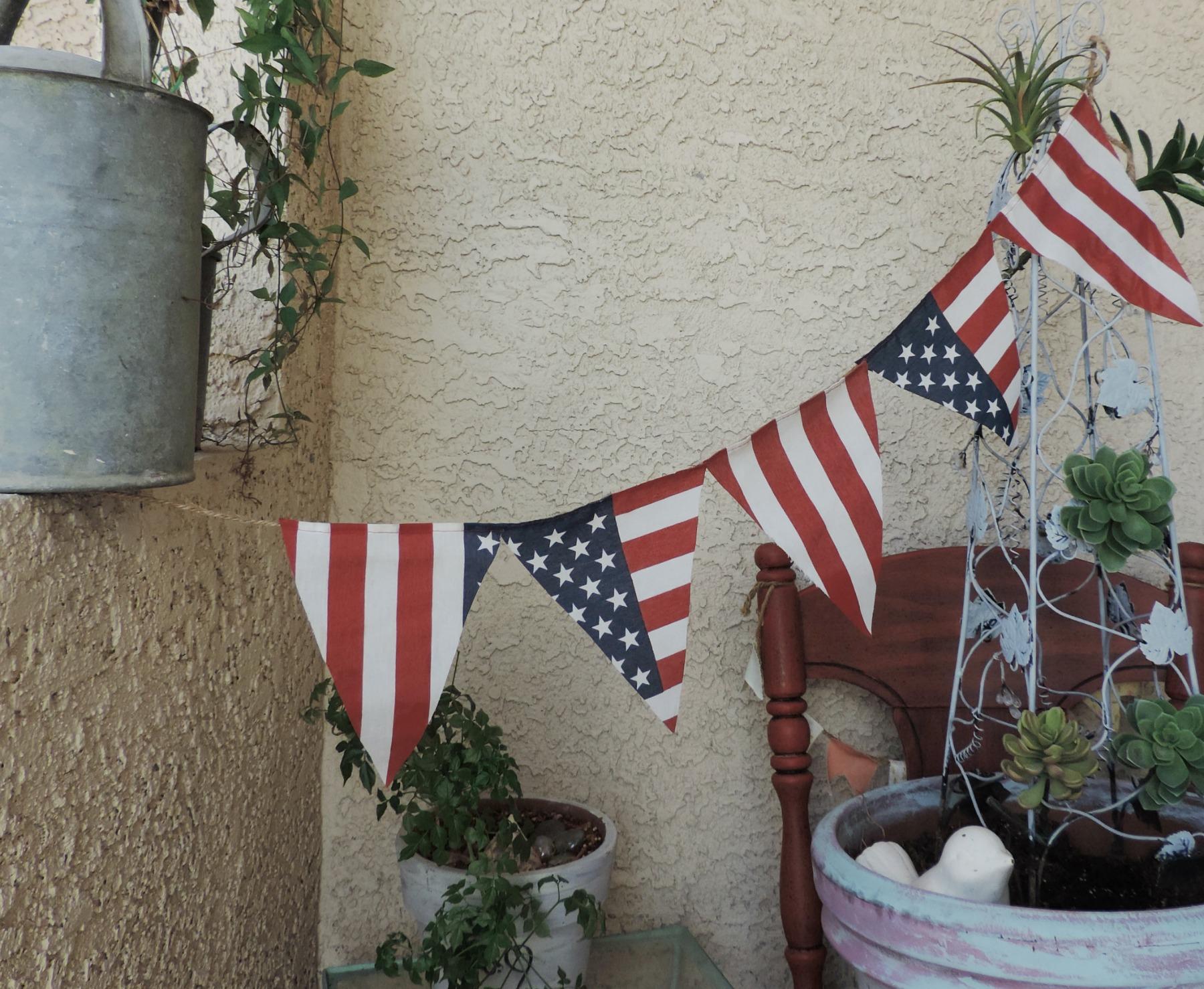 Americana Banner-So EASY to Make!