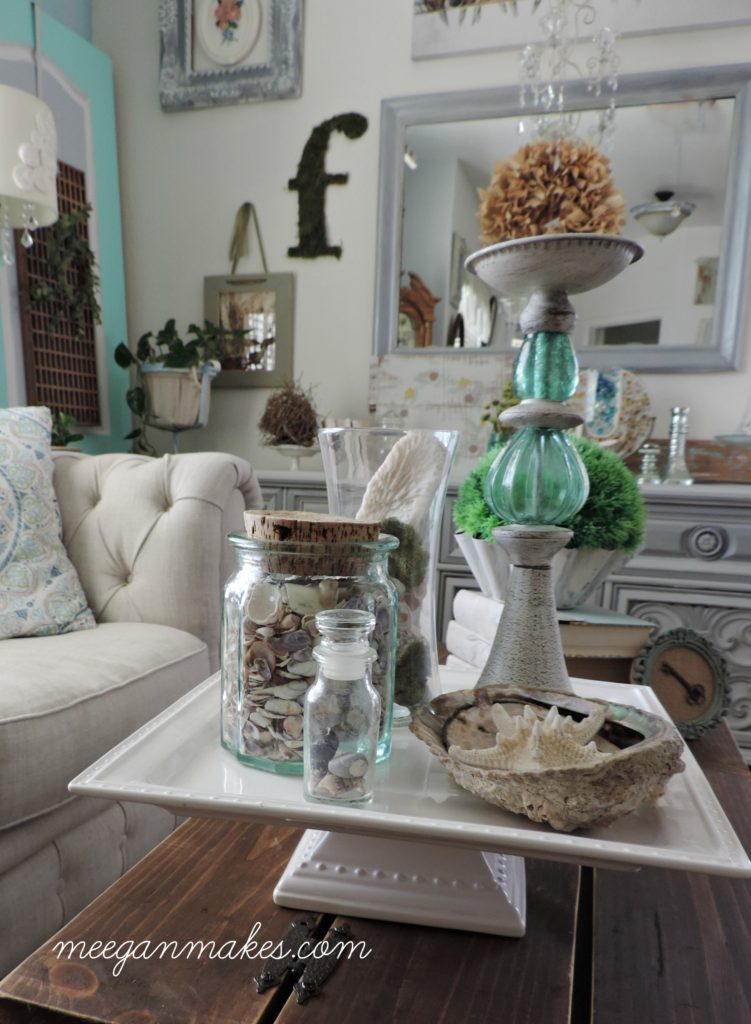 How To Style a Beach Pedestal