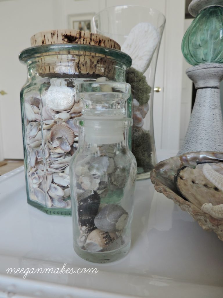 Summer Decorating with Shells