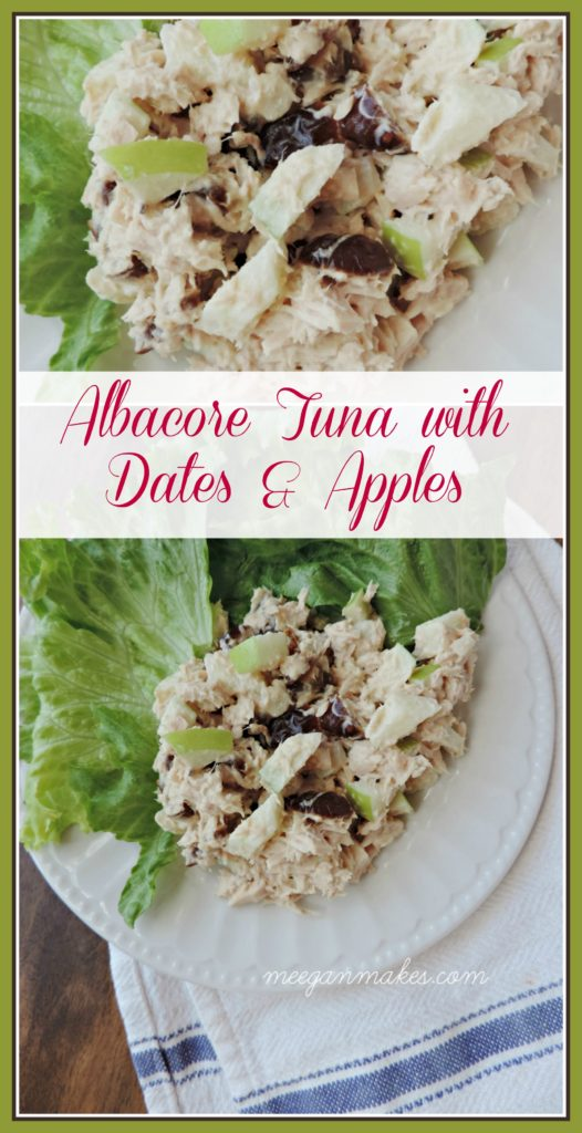 Albacore Tuna with Dates and Apples by meeganmakes