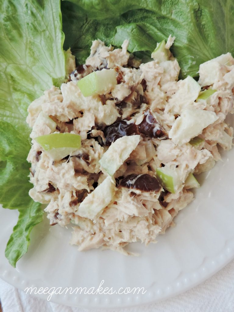 Tuna with Dates and Apples