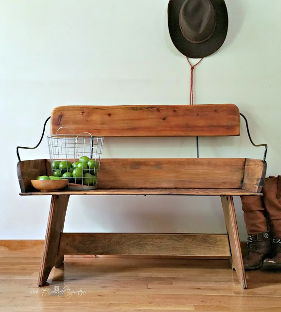 wagon bench seat makeover
