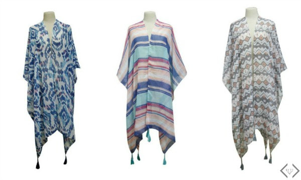 Cents of Style Kimono with Tassels