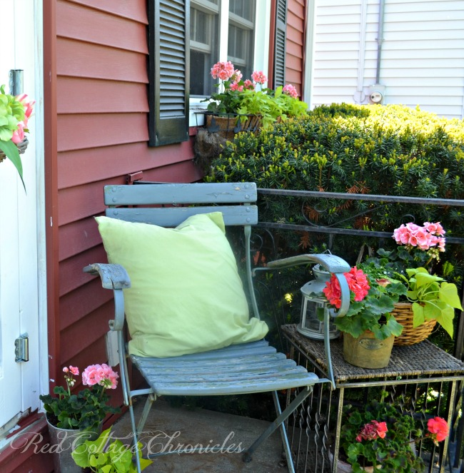 Small Porch from Red Cottage Chronicles