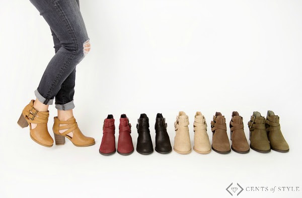 Cents Of Style Strap Boots