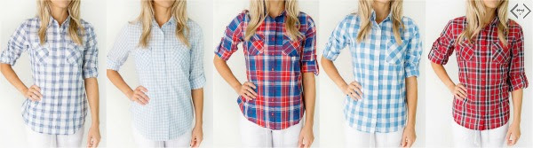 Cents of Style Plaid Shirts
