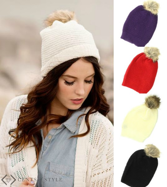 Cents of Style Slouch Knirt Beanie