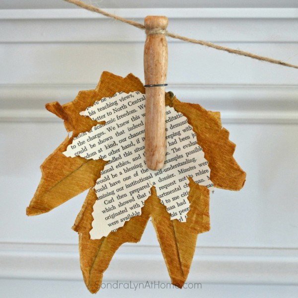Fall-Leaf-Banner-with-Bookpage-Leaves-Sondra-Lyn-At-Home.com_