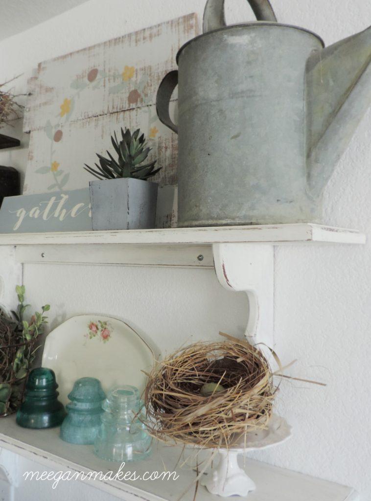 Open Shelves In My Kitchen
