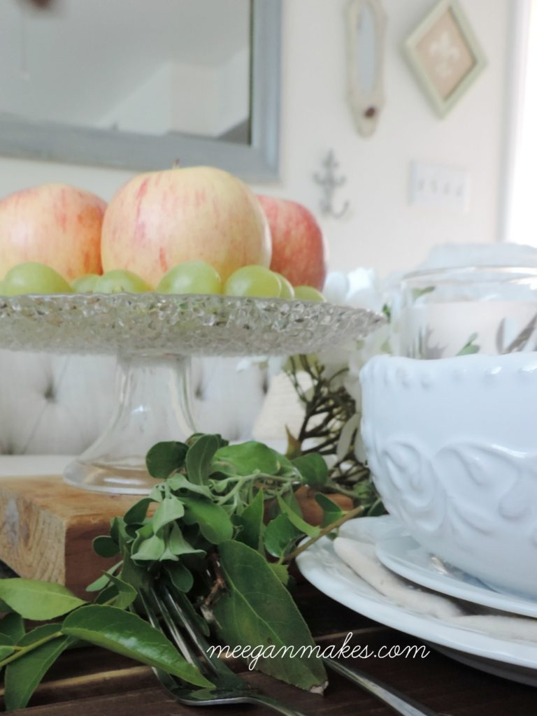 Simple Fall Meal Decorating