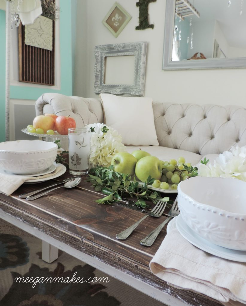 Using Fruits and Veggies For Fall Decorating