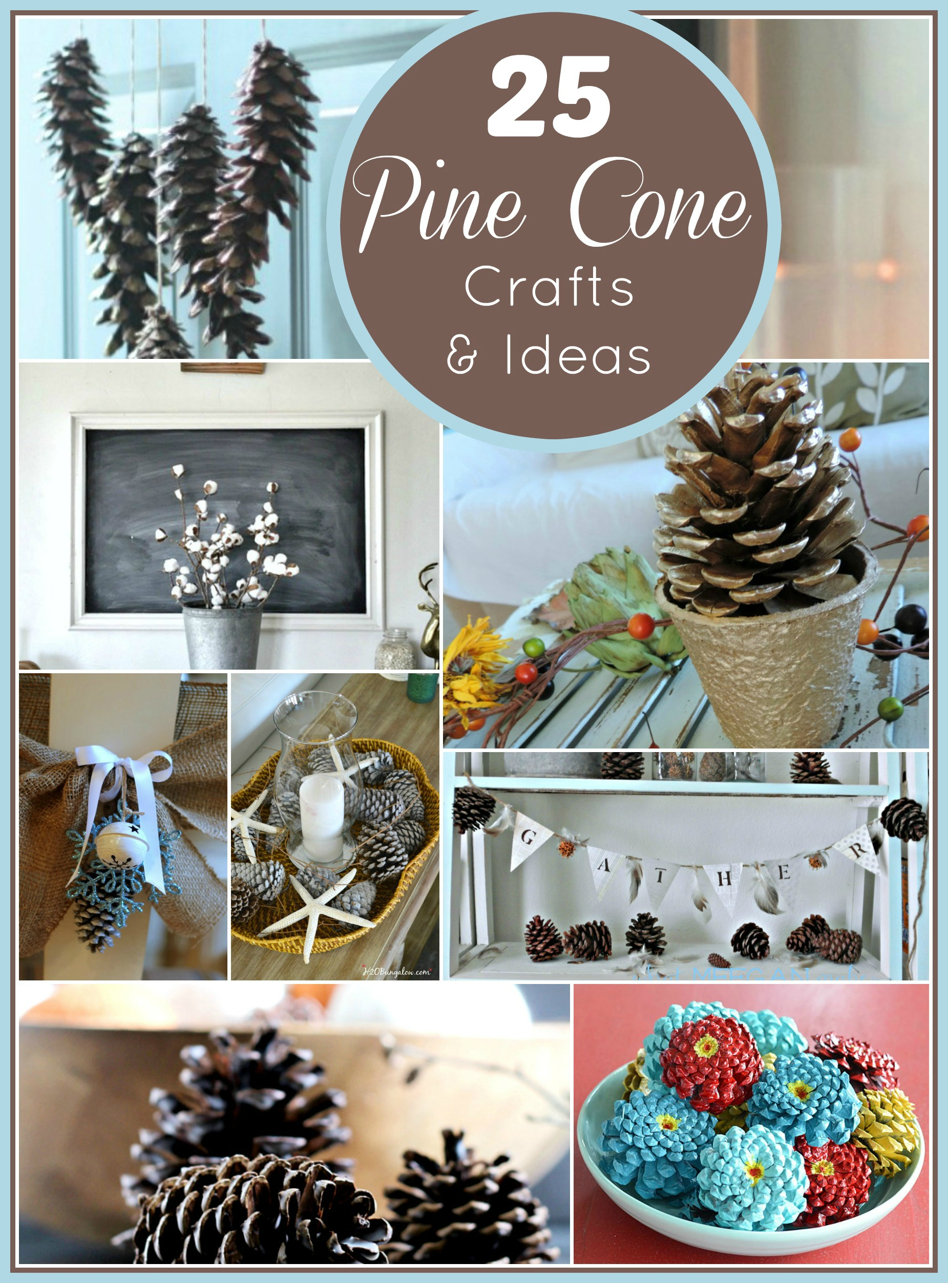 pine cone crafts and ideas what meegan makes