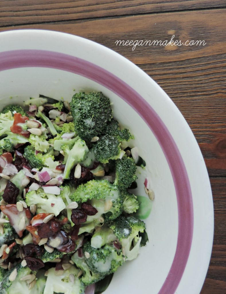 Broccoli Salad From Scratch-YUM!