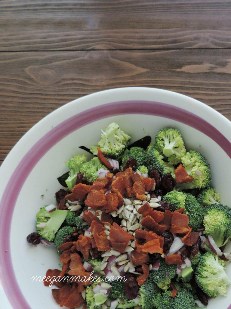 Broccoli Salad Ingredients