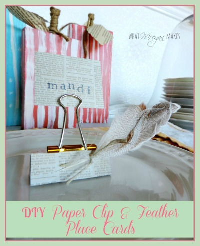 make-your-own-place-cards-with-a-paper-clip-and-feathers-button