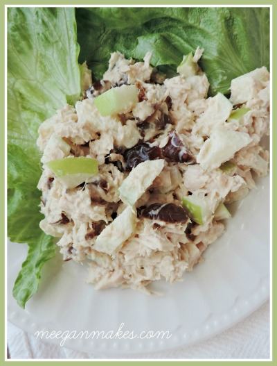 Tuna with Dates and Apples Button