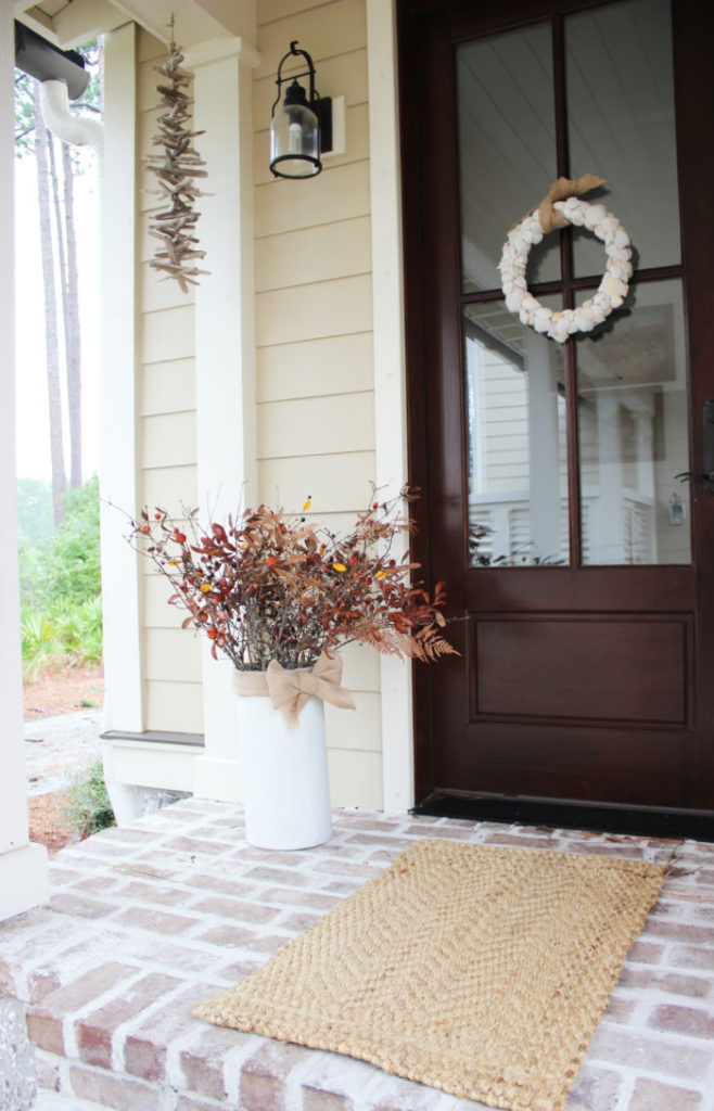 shell-wreath-with-fall-flowers