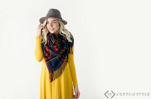 cents-of-style-dress-with-blanket-scarf