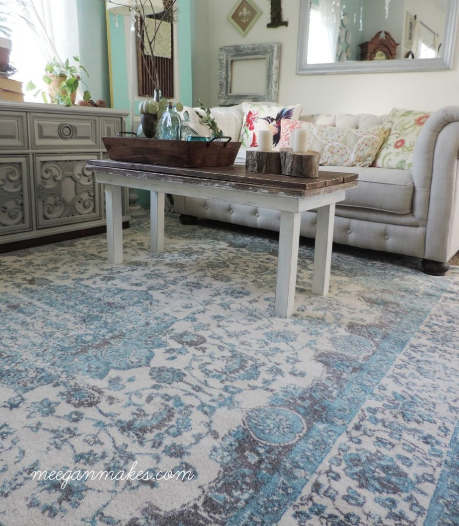 A Rug Can Make All The Difference by meeganmakes.com