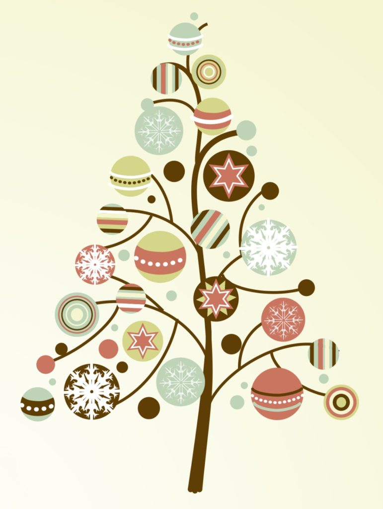 christmas-tree-with-vintage-ornaments