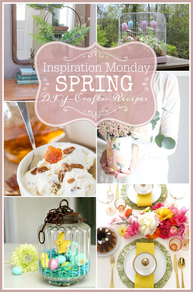 Spring Diy Crafts Recipes at the Inspiration Monday Party