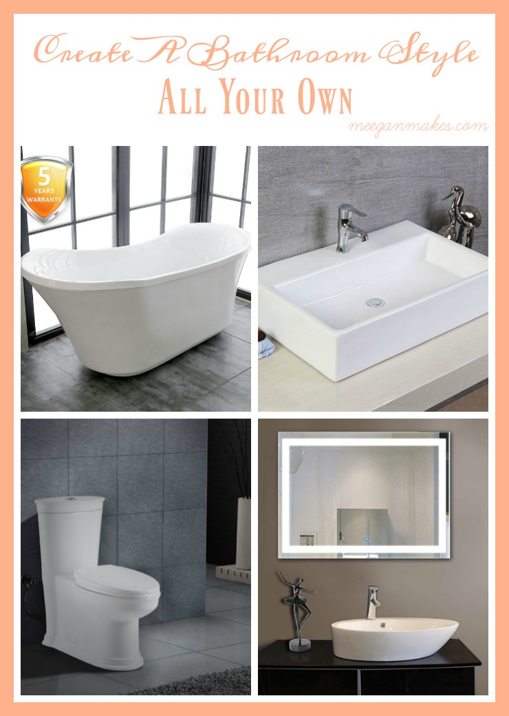 Create a bathroom style all your own what meegan makes for Design your own bathroom