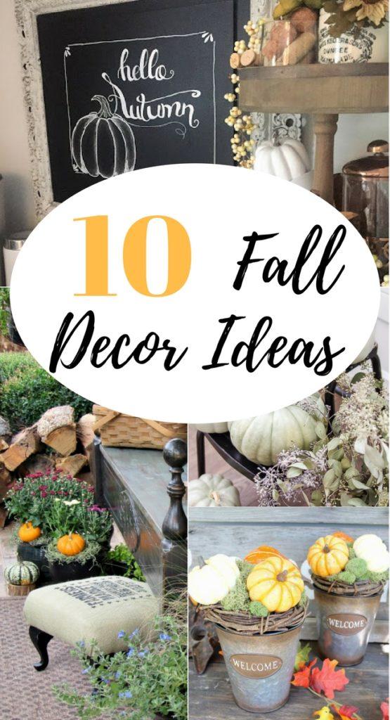 10 Fall Home Decor Ideas What Meegan Makes