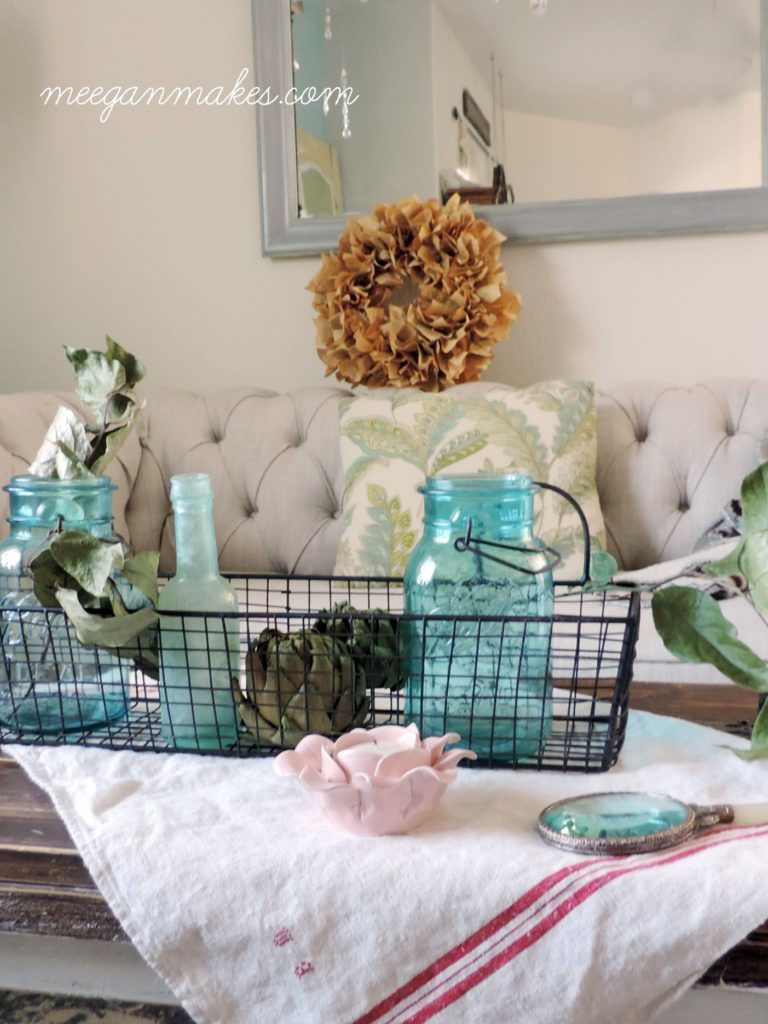 how to decorate for fall in pastels what meegan makes
