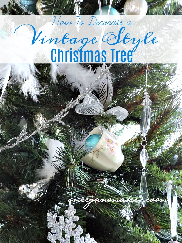 I Hope You Have Enjoyed My Ideas For How To Decorate A Vintage Style Christmas  Tree. Again, This Has Been A Real Treat To Be Here With You.