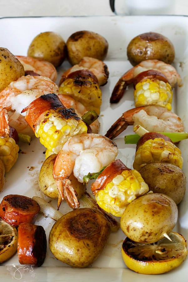 Grilled Shrimp Kebabs