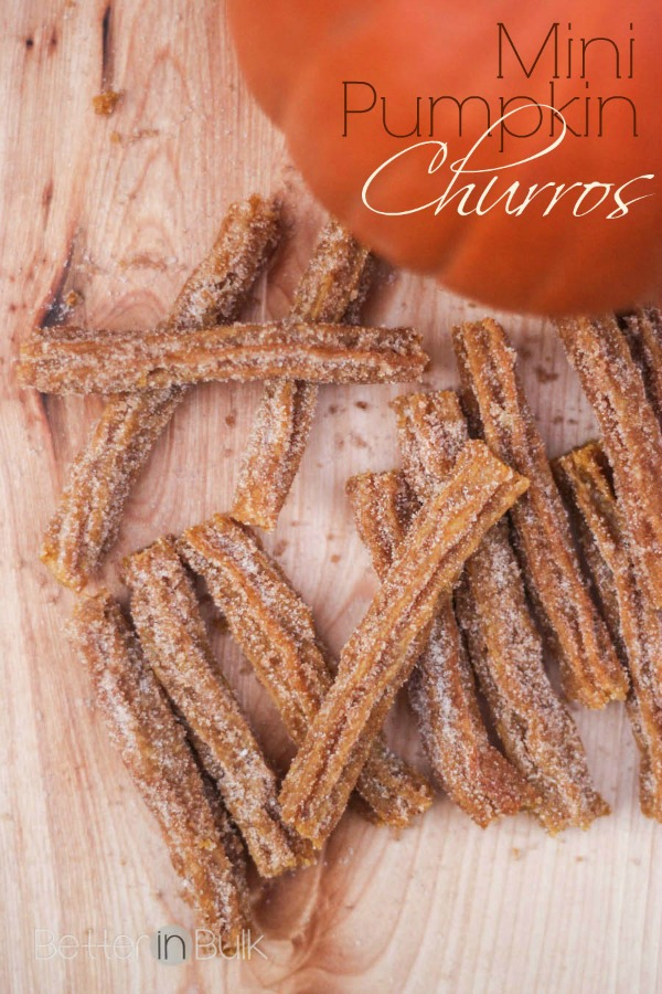 Mini Pumpkin Churros