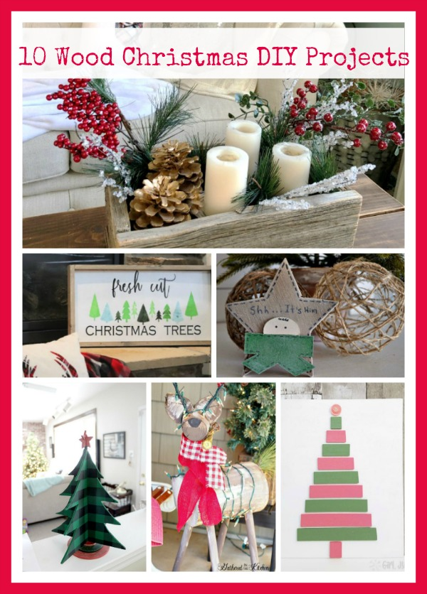 10 Wood Christmas Diy Projects